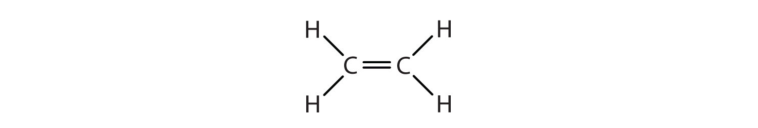 Condensed formula of Ethene.