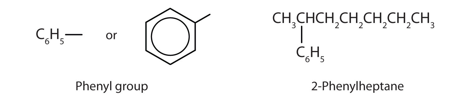 The aromatic compound can be found as substituent.