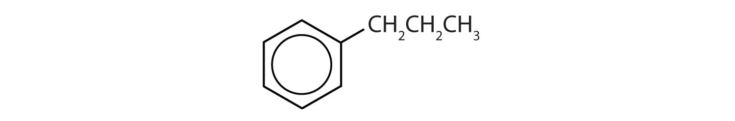 6-Carbon aromatic compound with a propyl radical.