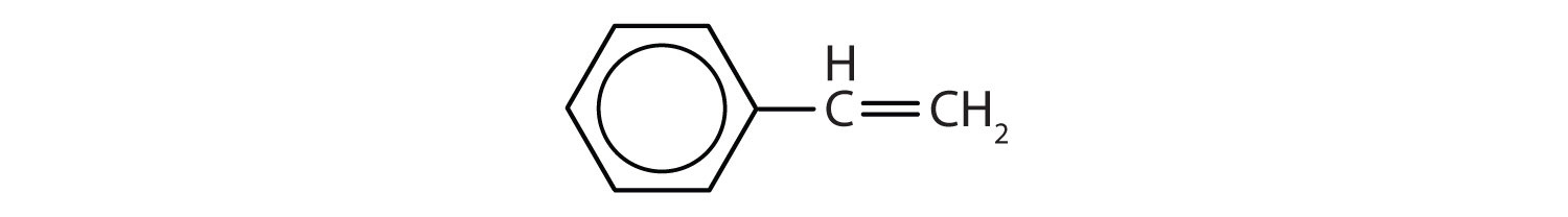 6-Carbon aromatic compound with a 2-ene-ethyl radical.