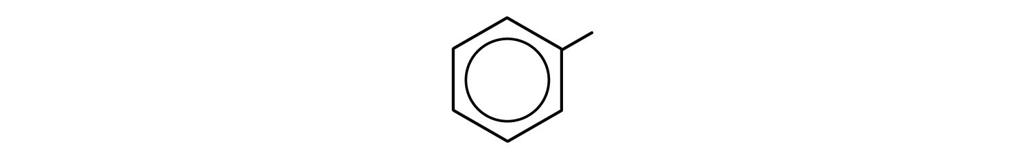6-carbon aromatic cyclic compound with a radical Methyl.