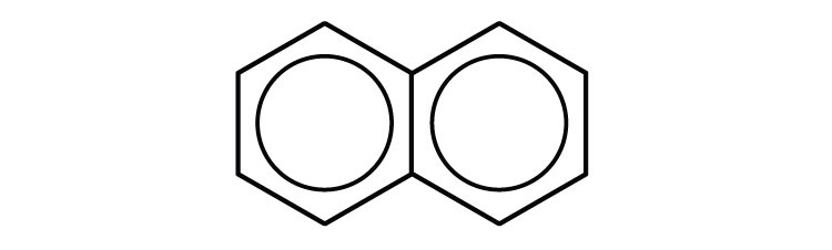 Two 6-carbon cyclic ring compound.