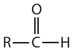 Functional Group for Aldehydes: Double Bond Oxygen-Primary Carbon.