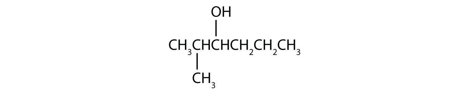 Six-Carbon secondary alcohol with functional group attached to Carbon 2 a radical methyl attached to Carbon 3.