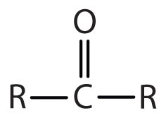 Functional Group for Ketones: Double Bond Oxygen-Secondary Carbon.