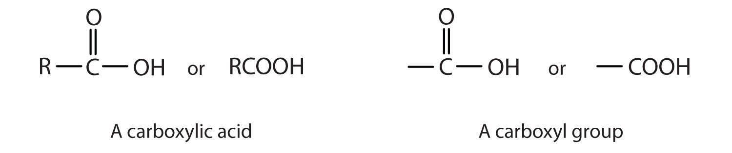 The carboxyl group of organic acids is formed by a Carbon-Oxygen double bond and a hydroxyl group attached to the same Carbon atom.
