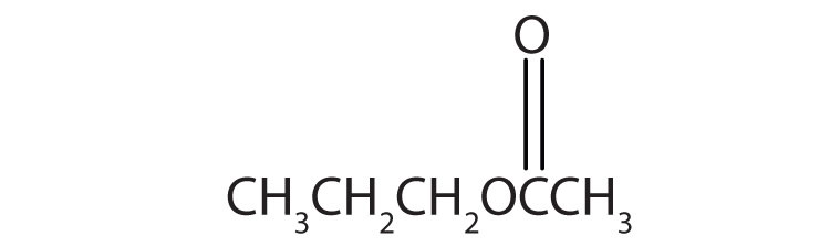 5-Carbon Esther with functional group attached to Carbon 2.