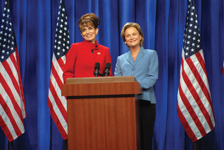 Comedian Tina Feys Parody Of Republican Vice Presidential Candidate Sarah Palin Was The Subject Much Media Discussion Almost 25 Percent Voters