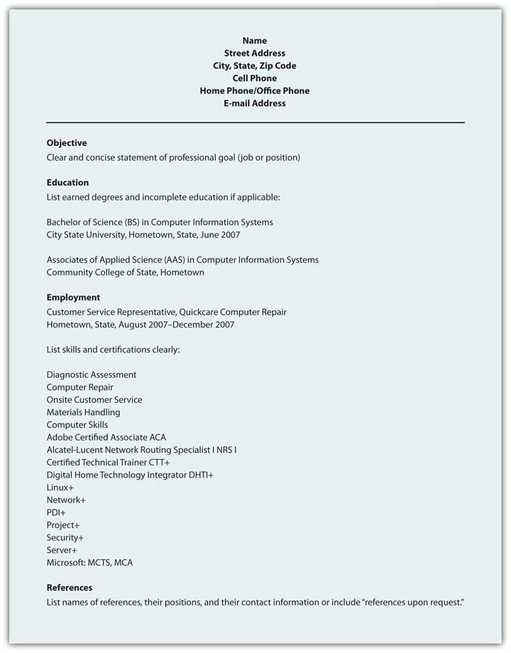Printing, Packaging And Delivery  Education Resume Format