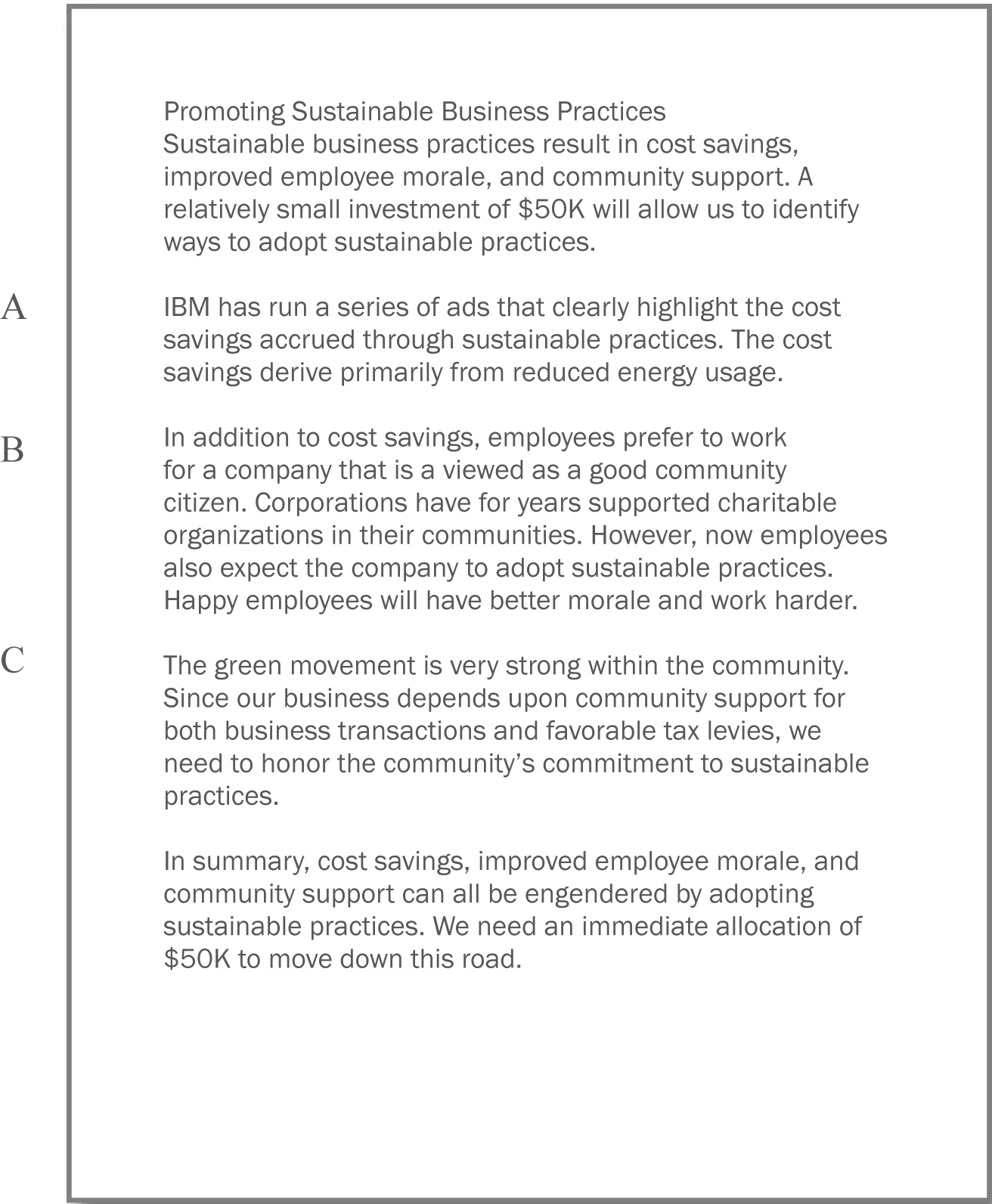 writing a business case 2014-11-3  sample business case for hiring new staffpdf  writing a business case  a strategic need would be where a department is seeking to staff a.
