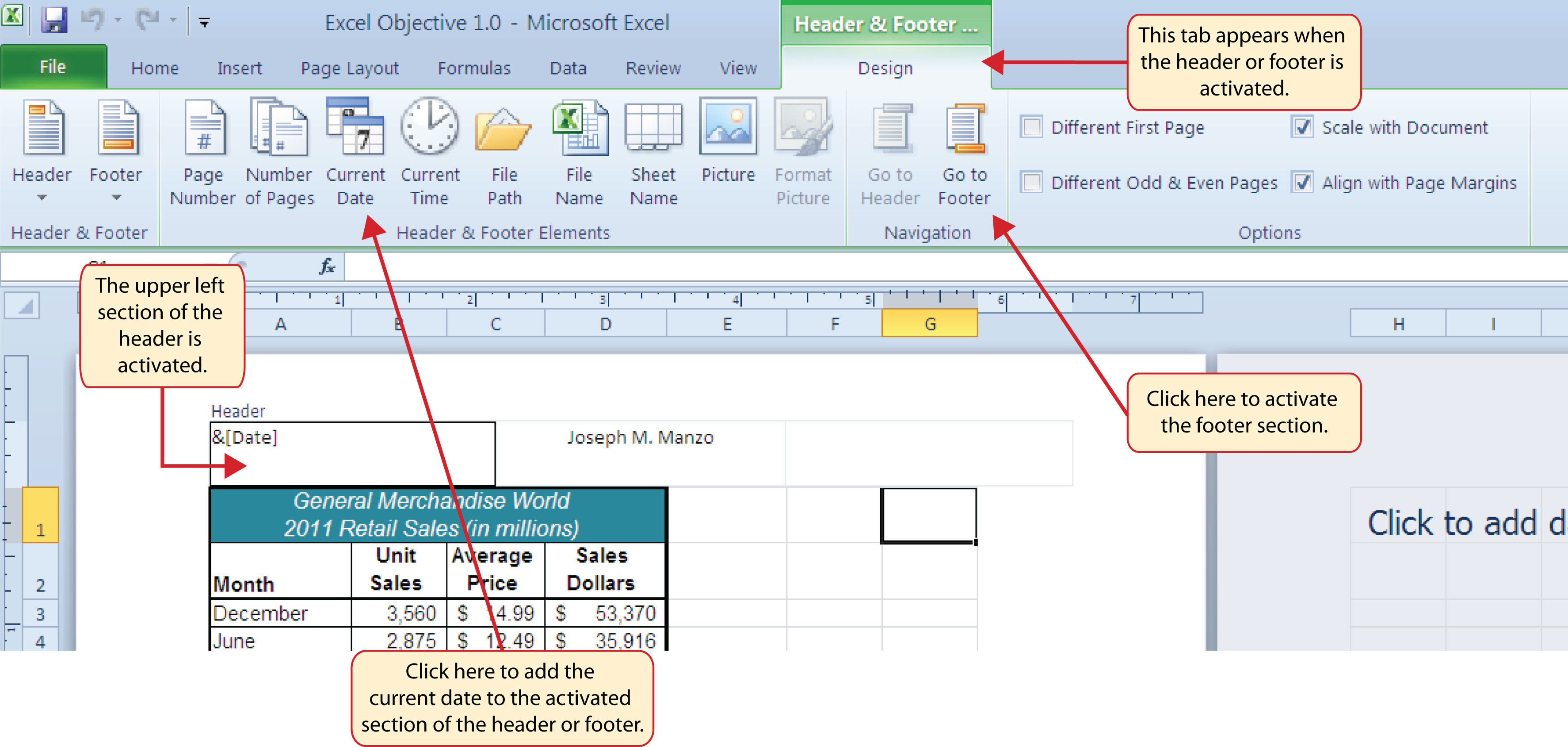Printing – Center Worksheet Excel