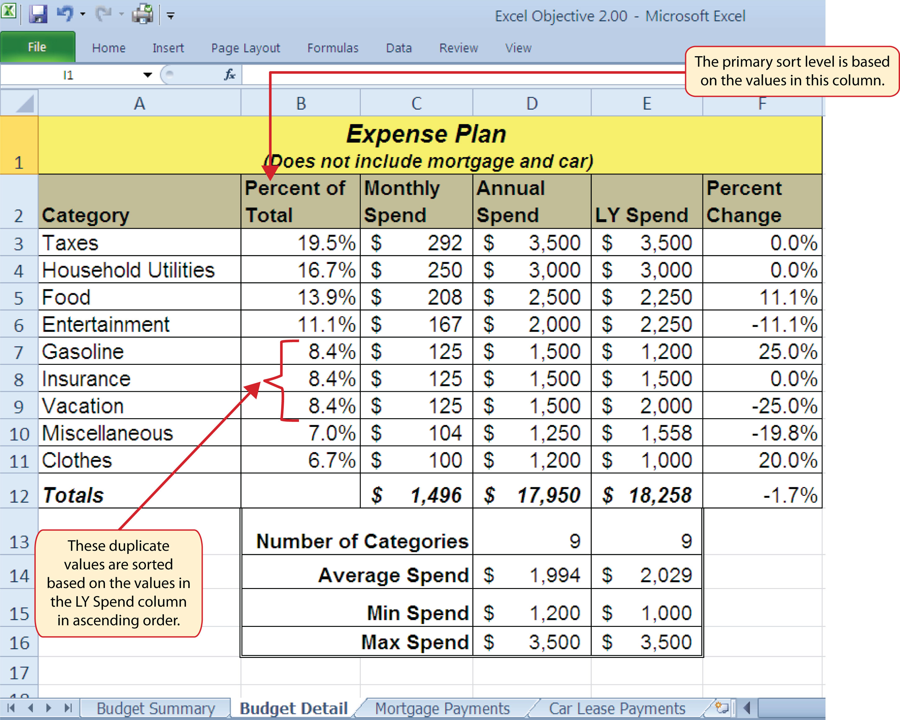 Statistical Functions – In Addition to Its Worksheet Capabilities Excel Can