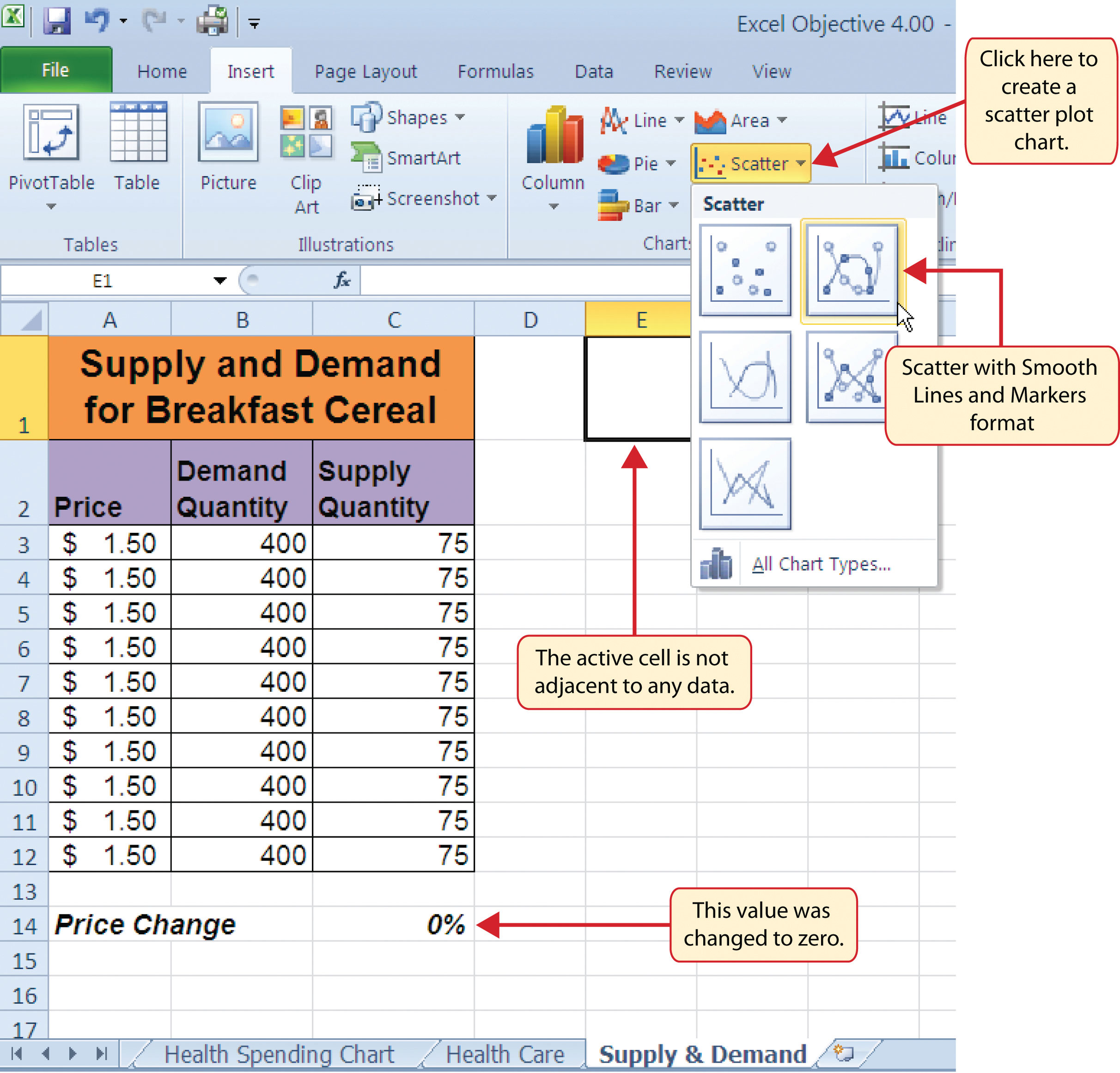 how to make excel use significant figures