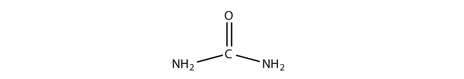 Example of primary amine (Urea)