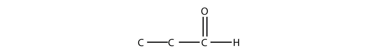 Aldhehyde compound propanal