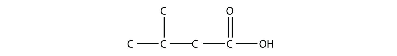 Organic compound 3-Methyl-butanoic acid