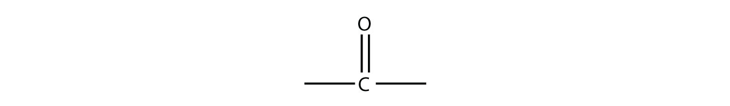 - Carbonlyl functional group