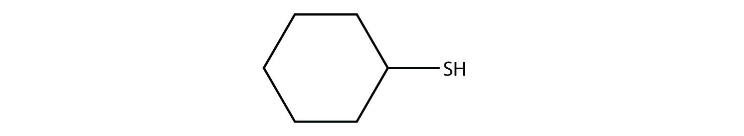 Organic compound with tiol group