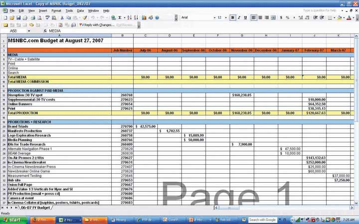 Digital Marketing Budget Template. marketing budget template plan ...