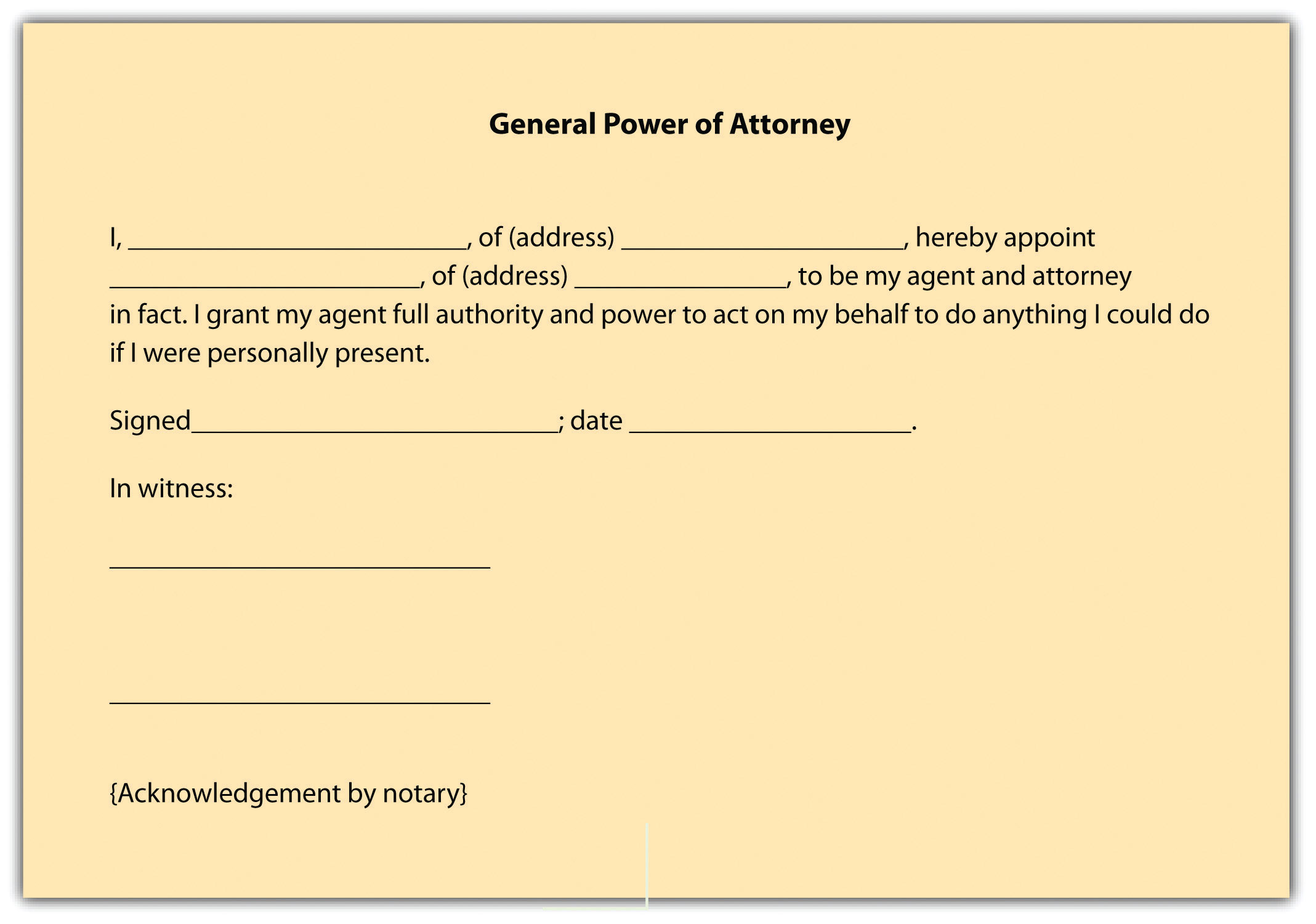 Sample Property Power Of Attorney Letters. Appointment Confirmation Letter  Confirmation ...
