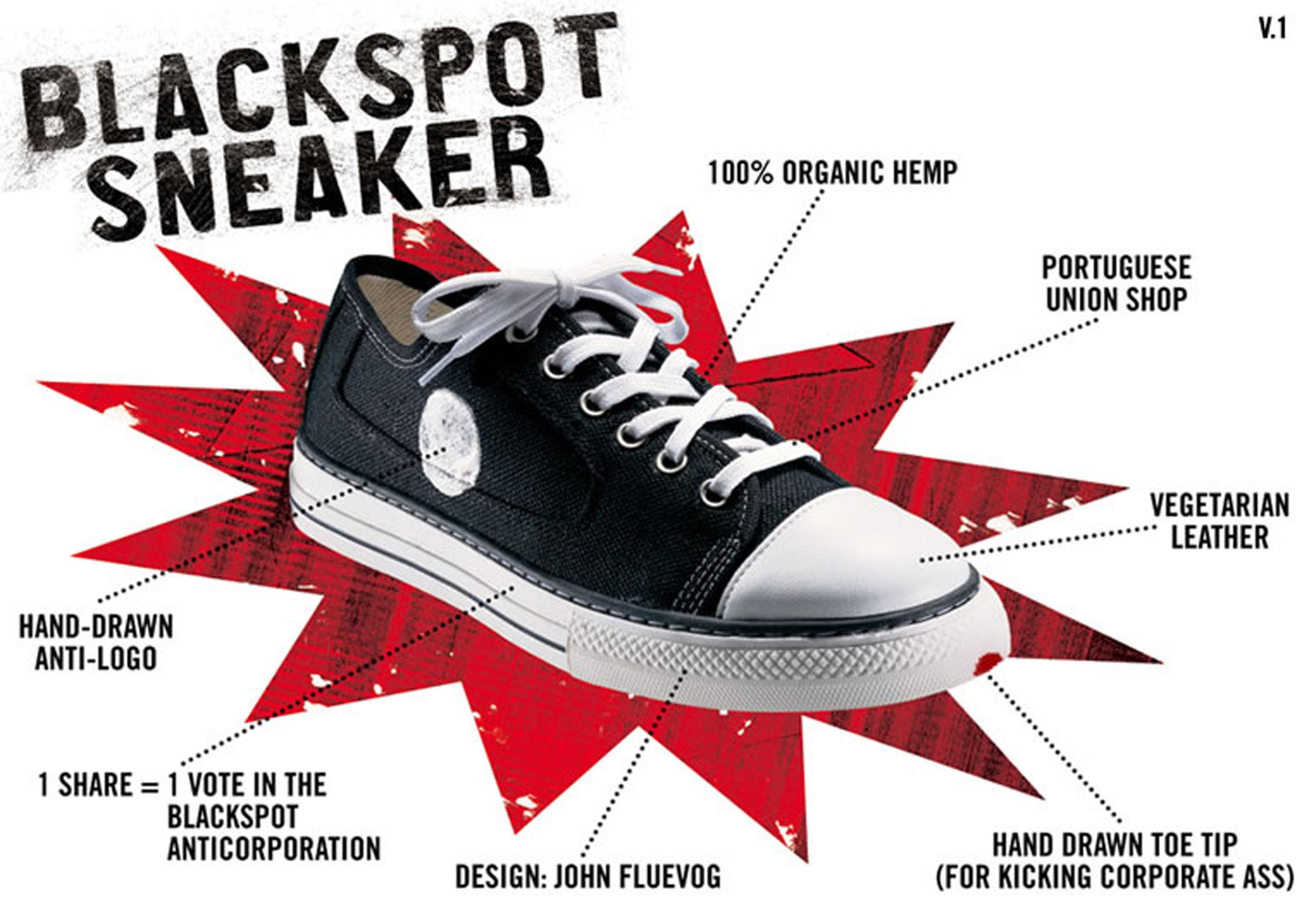 Blackspot shoes developed as an anti-brand alternative to regular sneakers. 4d11dfd95