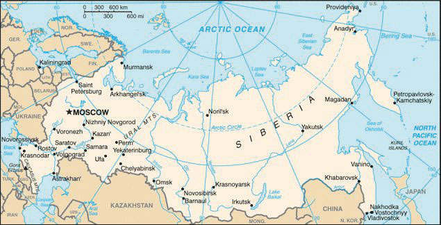 Arctic Circle Russia Map.Russia