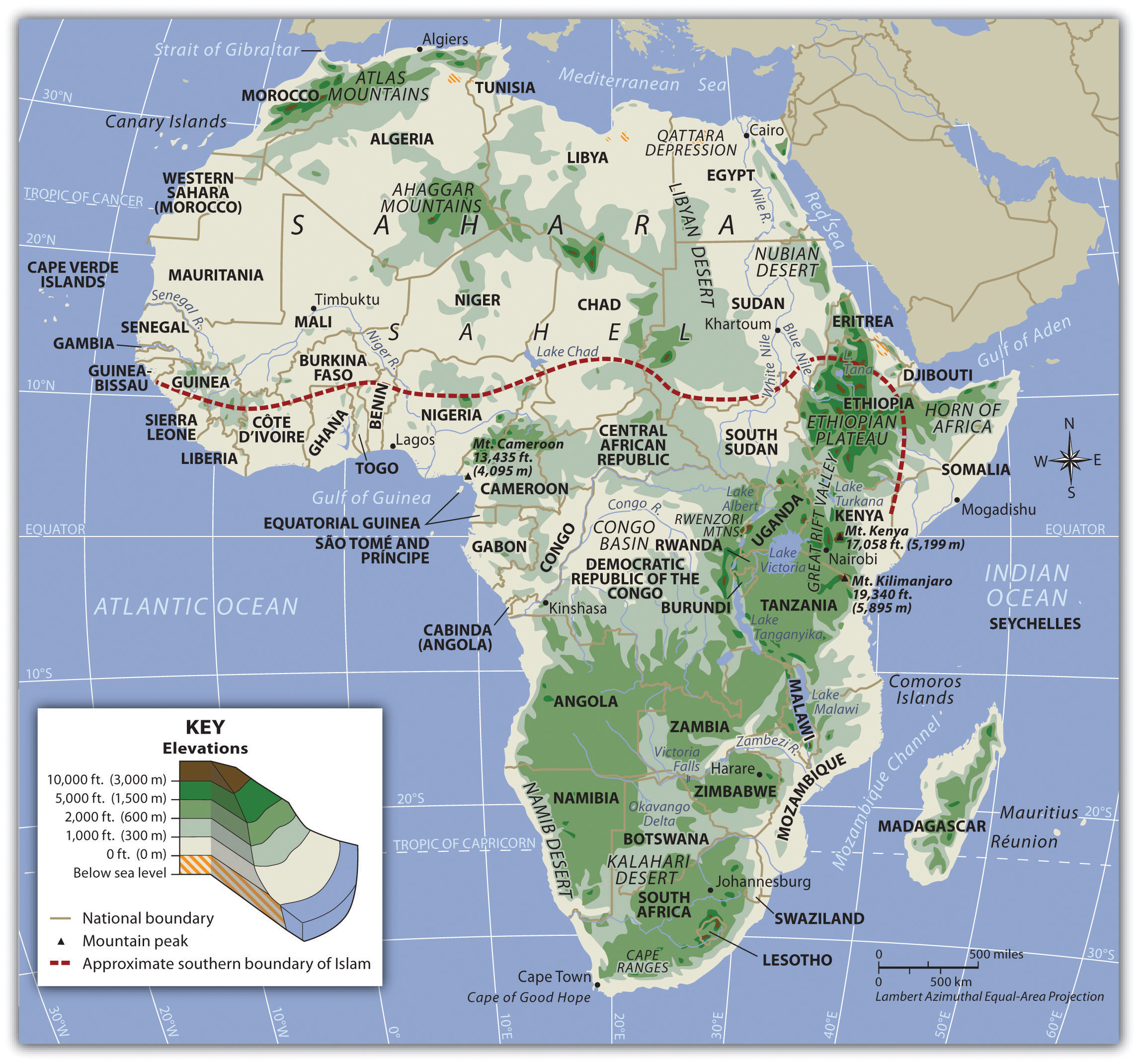 Picture of: Subsaharan Africa