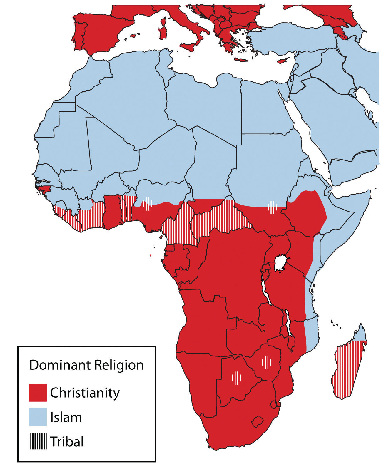 Subsaharan africa religion in subsaharan africa sciox Images
