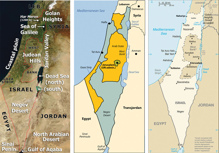 changes in palestine's geographical landscape World geography pacing guide  • the industrial revolution originated in great britain brought cultural changes to the country  palestine's issues of.