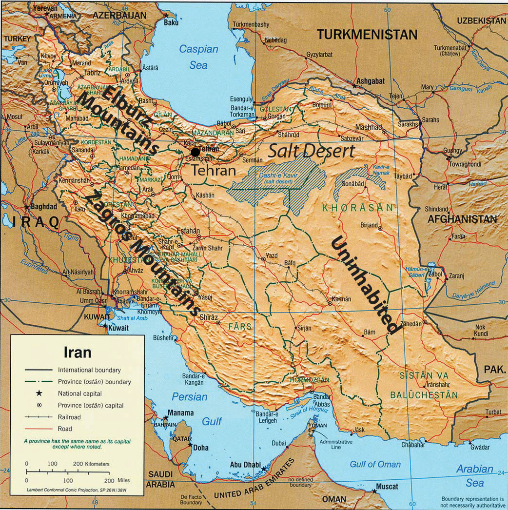 Iraq, Turkey, and Iran