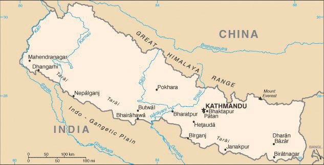 South asia the kingdom of nepal sciox Images