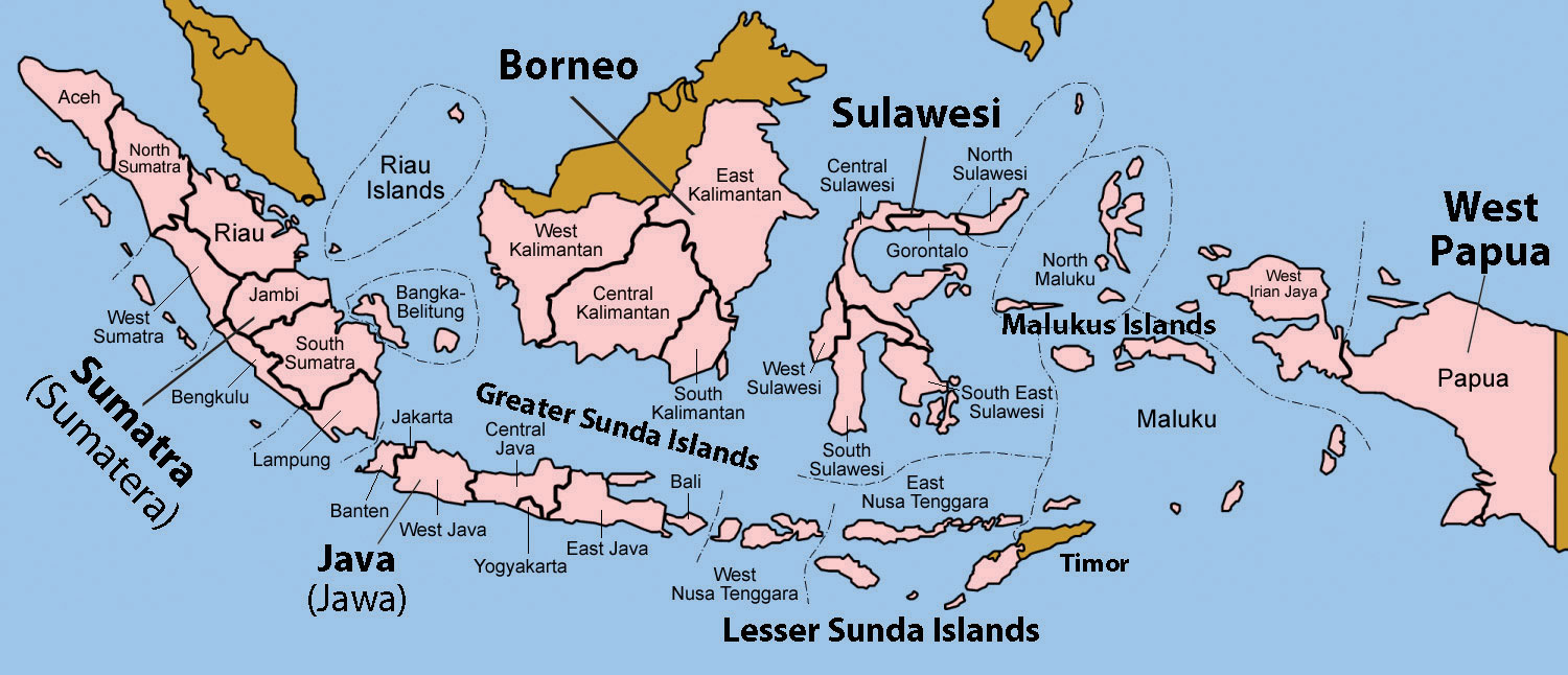 Southeast Asia - Economic zones southeast asia map