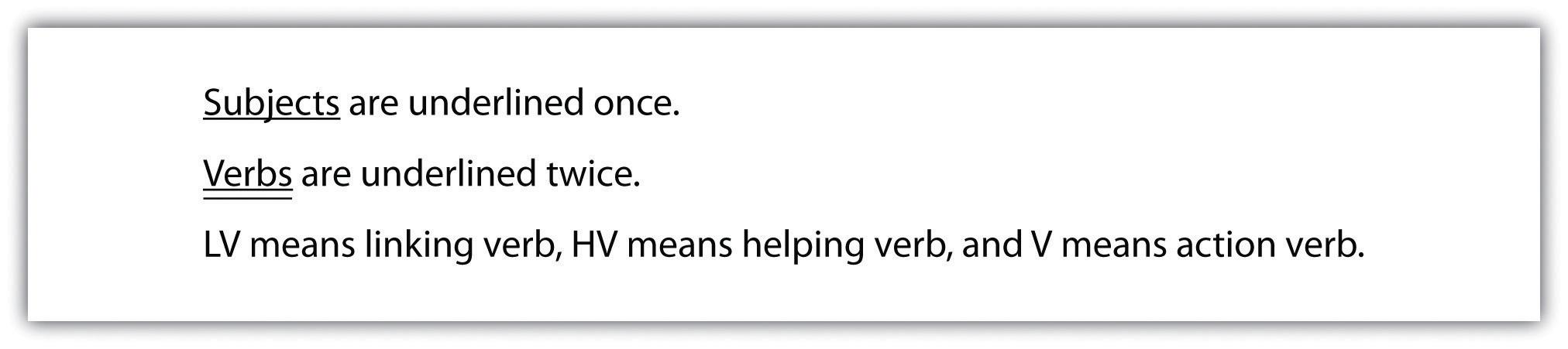 sentence writing tip