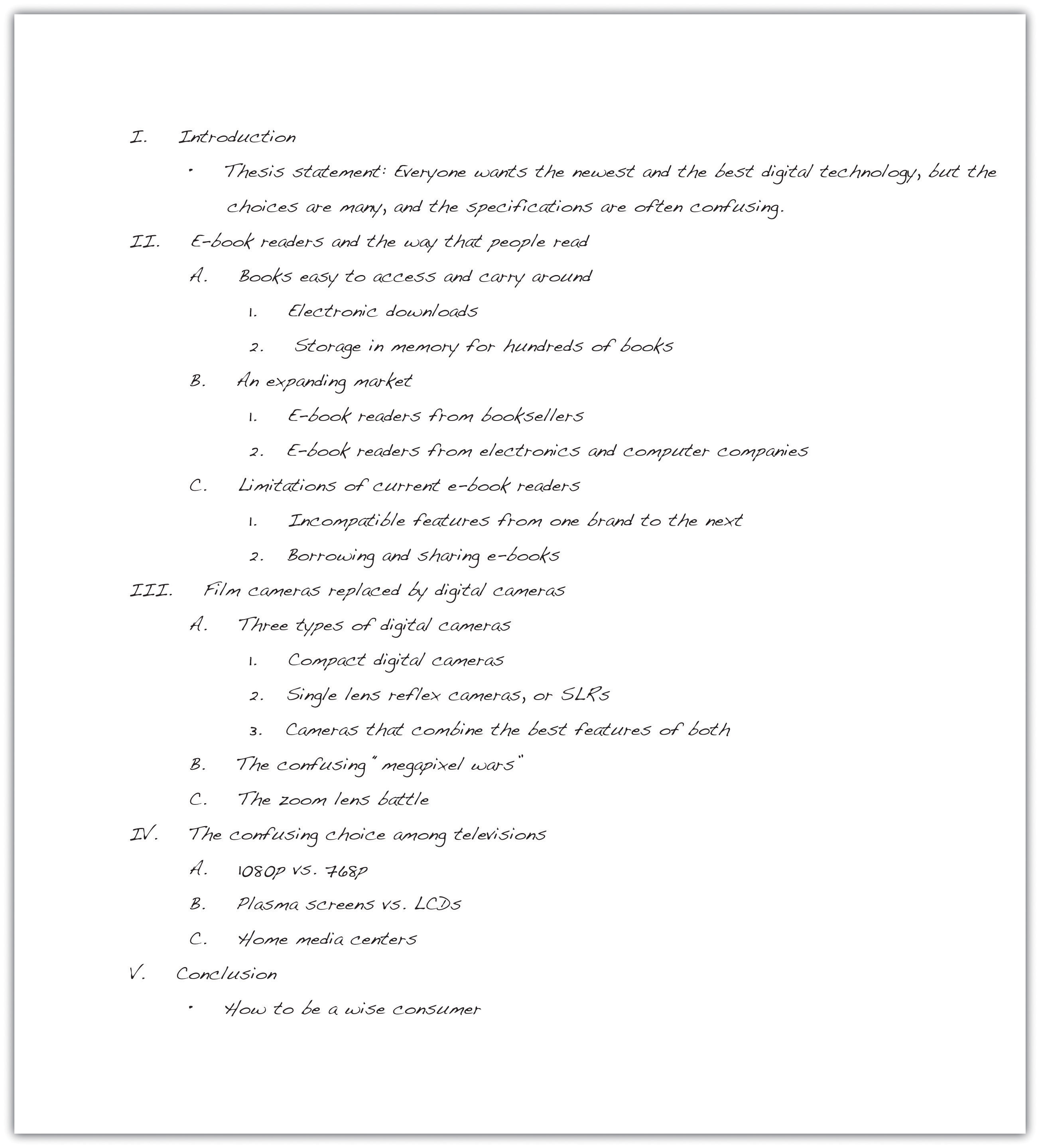 Homework help outline for an essay paper